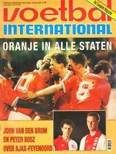 V.I. 1993  nr. 42 - NEDERLAND-ENGELAND/FOPPE DE HAAN/FRANS DE MUNCK/TON PRONK
