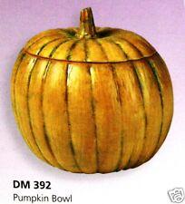 Ceramic Bisque Pumpkin Candy Bowl Duncan Mold 392 U-Paint Ready To Paint
