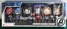Hot Toys Cosbaby Avengers Tony Stark Ironman Thor Loki Captain America Red Skull