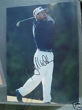 Jim McGovern signed photo Hologram COA PGA Golf