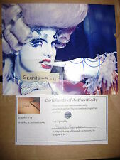Prince Poppycock Signed Burlesque Autograph Proof COA