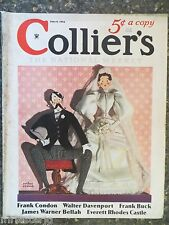 Collier's Magazine   June 9,1934     *Arthur Crouch Cover*  GREAT ADS