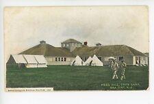 Mess Hall SEA GIRT NJ State Camp Army Military Tents UDB <1908