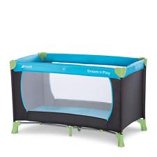 Hauck Reisebett Dream N Play / für Babys und Kinder ab Geburt bis 15 kg  Blau