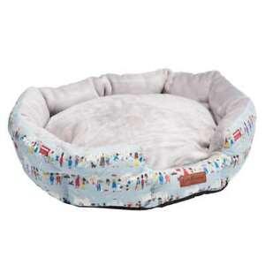 Cath Kidston London People Print Dog Bed - L /XL - 78x60cm - Brand New  RRP: £70