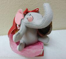 "NWTMWT! 1999 Annalee 8"" ""VIOLA THE ELEPHANT IN HER VALENTINE"" Figurine #039299."