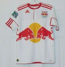 Red Bull New York Adidas MLS Printed Logo Jersey Size Large