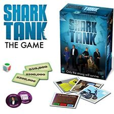 Shark Tank The Game TV Show Investment Game 2-6 Players Age 8+New