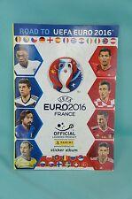Panini Road to Euro 2016 Album Leeralbum Sammelalbum