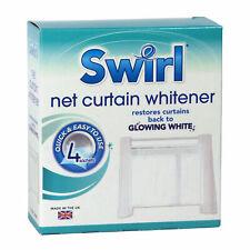 Swirl 4 Pack Net Curtain Whitener Restore Revive Sachet Laundry Household