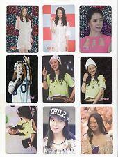 Korea Movie POP KPOP K-STAR Running Man Song Ji Hyo 宋智孝 송지효 9 card 55