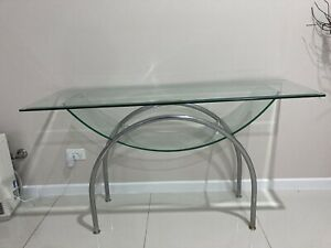Entry/hall Table Glass And Chrome