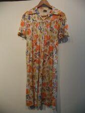 Vintage St Bernard Colorful Dress UK 14 Small Fit