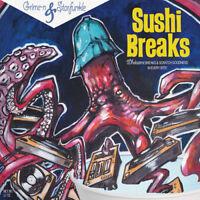 "Grime-n & Starfunkle - Sushi Breaks (7 Edition - Blue Vinyl) [New 7"" Vinyl] Blue"