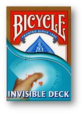 Invisible Deck Bicycle ROT Poker Spielkarten Trickkarten