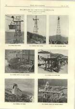 1915 Examples Of British Rope Ways Terminals Driving Gear Trestles