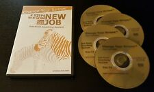 4 Steps To A Great New Job (DVD, 2009) hunt coaching system Change Your Stripes