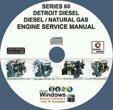 Detroit Diesel Series 60 DDEC I II III IV V Engine Service Repair Manual CD