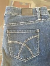 Womens Lee Ryders Size 14 Low Rise Bootcut Jeans Dark Blue Rinse