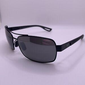 Maui Jim Ola Sunglasses MJ764-02M Black Matte Frame with Neutral Grey Lenses