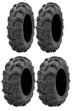 Full set of ITP Mud Lite XL 26x9-12 and 26x10-12 ATV Tires (4)