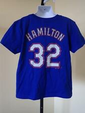NEW MINOR FLAW- MLB Texas Rangers #32 Josh Hamilton KIDS Medium M (5/6) T-shirt
