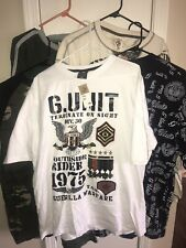 G-Unit Rare New With Tags (5) Shirts Lot, Last Chance Less Than $30 Each