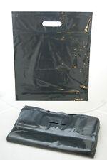 DKT Plastiktüten schwarz 38 x 45cm 50 my Tragetasche Plastiktüte farbig Beutel
