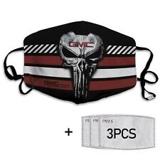 GMC logo Punisher - Cotton facemask - Best gift for you