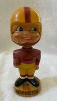 VINTAGE 1960s AFL NFL WASHINGTON REDSKINS BOBBLEHEAD NODDER BOBBLE HEAD