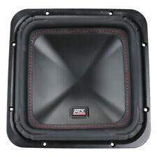 "MTX Audio S6510-44 S65 Series 10"" Dual 4-Ohm Car Audio Square Subwoofer NEW"