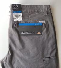 NWT New Columbia Flex ROC Shorts 38 UPF  Gray