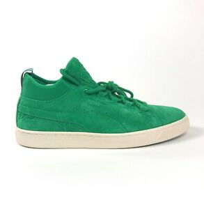 Puma Suede Mid Big Sean Mens 10 Jelly Bean Green Shoes Sneakers Casual 366252-02