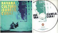 HAVANA CULTURA Subelo Cuba 2018 UK 13-trk promo test CD