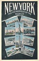 NEW YORK CITY – New York The Metropolis of the World 10 Scenes