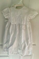 Christening 3 Piece Set Gown, Shoes, Hat Size 6-9 Months Nwot 01