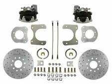 1984-06 Jeep Rear Disc Brake Conversion Kit (drilled & slotted)