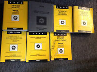 1994 JEEP CHEROKEE & WRANGLER Service Shop Repair Manual Set W Supplement + x
