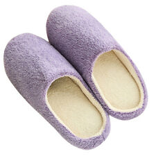 Men Women Winter Soft Warm Indoor Slippers Unisex Home Slipper Shoes New