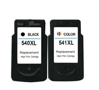 2x PG 540 CL 541 Ink Cartridges Compatible For Canon Pixma MG2150 MG2250 MG3150