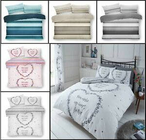 Luxuries FLUTTER Floral Printed Duvet Cover With PillowCase Bedding Set All Size