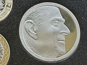 2011 Prince Philip 90th Birthday £5 Pound Proof Coin. Taken From Proof Coin Set