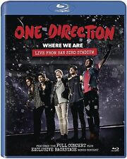 One Direction - Where We Are: Live from San Siro Stadium (2014)  Blu-ray  NEW