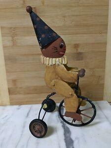 Halloween Pumpkins Ride Tricycle Bethany Lowe Vintage
