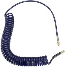 Kobalt Polyurethane 25 ft Blue Recoil Air Hose Extremely Lightweight Compact