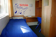 Dinosaur and Personalized Name Wall Sticker Wall Art Decor Vinyl Decal