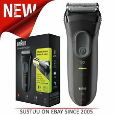 Braun Series 3 ProSkin 3000s Men Electric Rechargeable Shaver│Smooth Razor Black