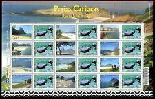 Brasilien Brazil 2009 Badestrände Tourismus Tourism 3731-42 Postfrisch MNH