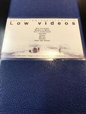 OFFICIAL LOW BAND VIDEO VHS 8 SONGS INDIE ROCK ALBINI BEDHEAD RARE REGION 1 OOP