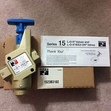 Ross 1523B3102 Series 15 LOX/EEZ-on Valve New In Box